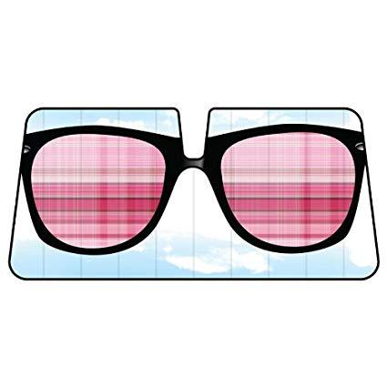 La auto gear pink. Sunglasses clipart sunshade