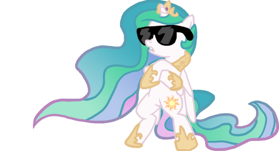 Celestia by furisutairu on. Sunglasses clipart swag