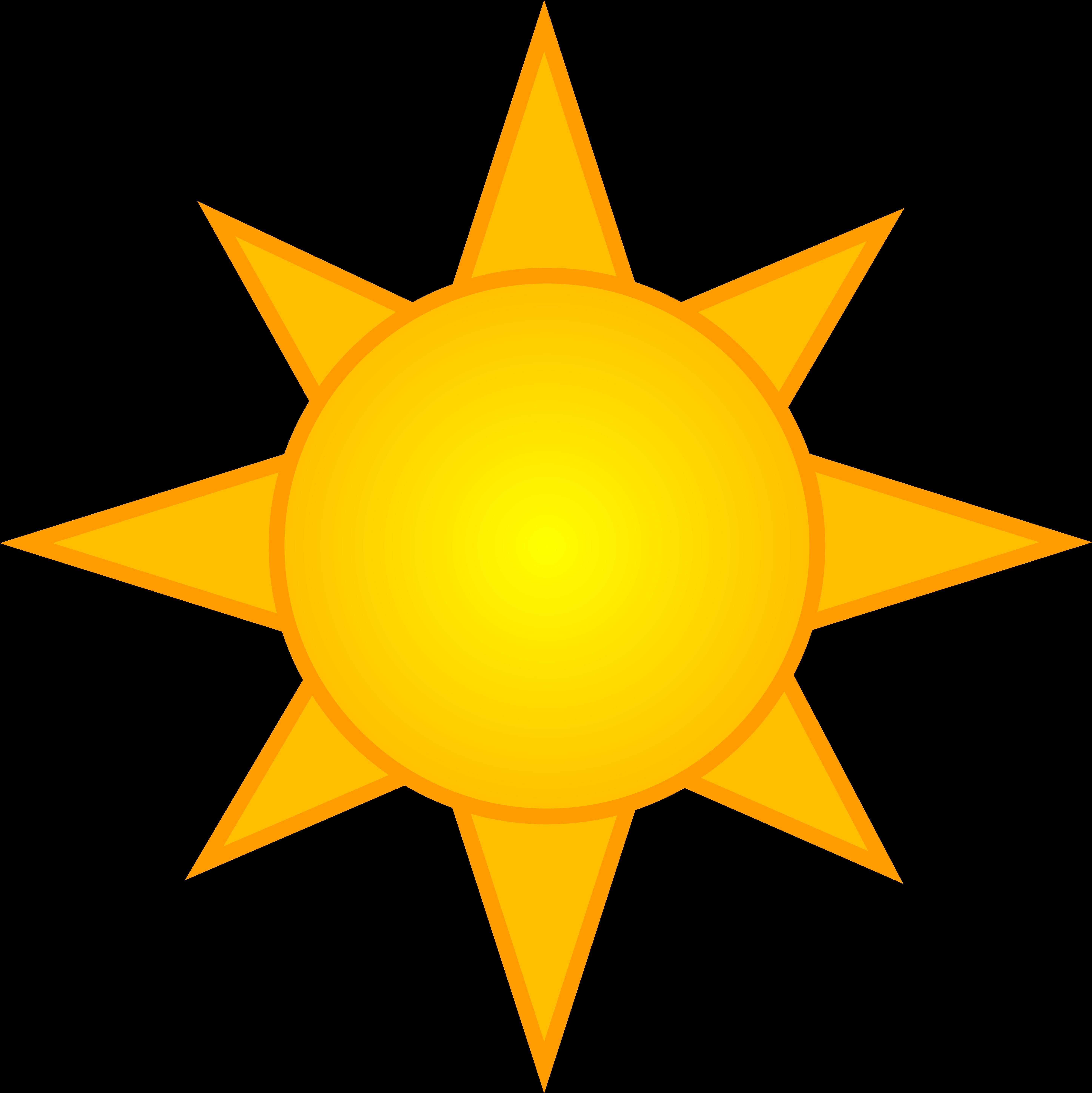 Sunny clipart cartoon. Scary sun cliparts zone