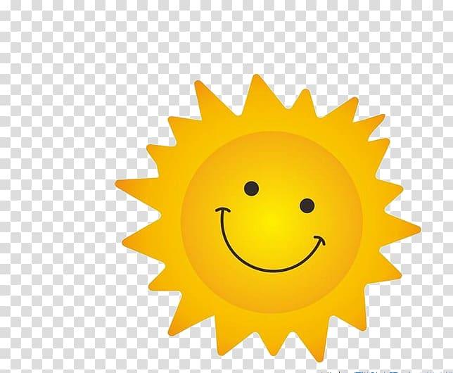Sunny clipart cartoon. Sun illustration cdr smile