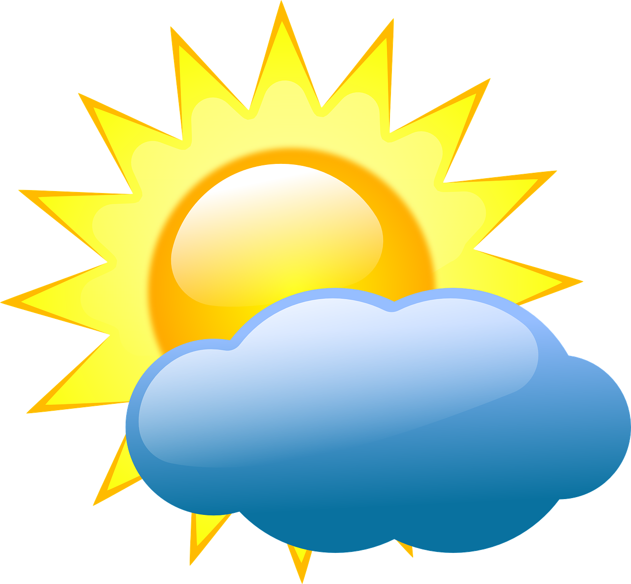 Sunny clipart climate. A warm welcome to