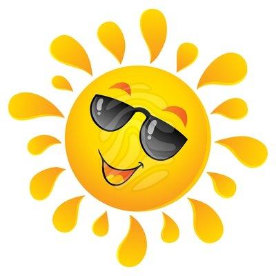 Sunny clipart clip art.  clipartlook