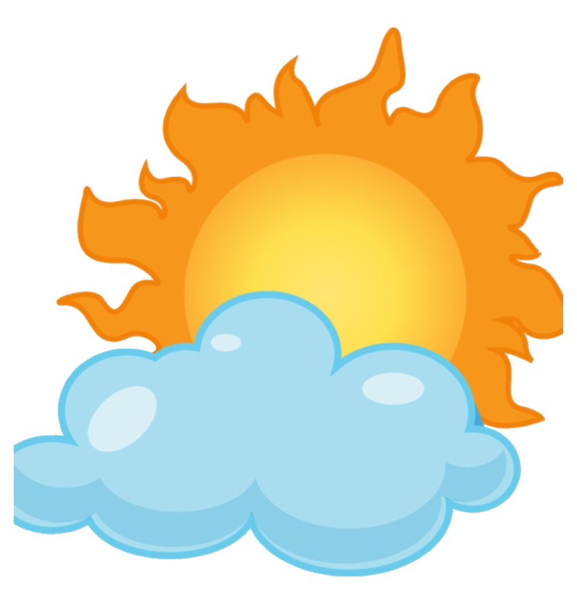 Sunny clipart cloudy. Partly history transparent png