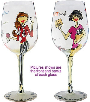 Bottoms up wine glasses. Sunny clipart fun glass