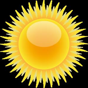 Sunshine free sun public. Sunny clipart funky