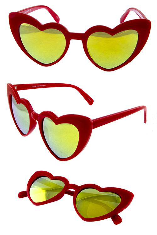 Womens cat eye f. Sunny clipart heart shaped sunglasses