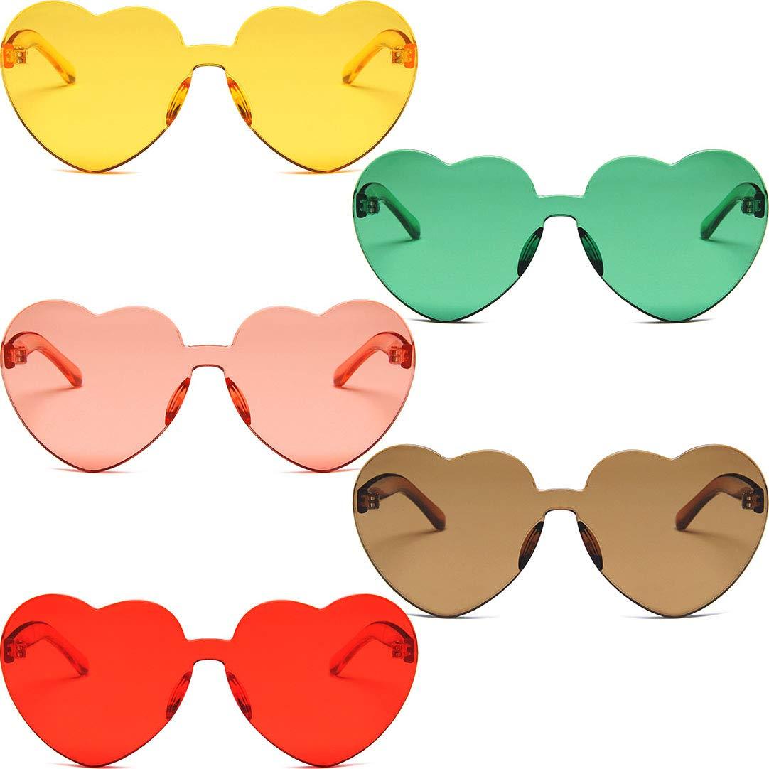 Sunny clipart heart shaped sunglasses. Amazon com onwon fashion