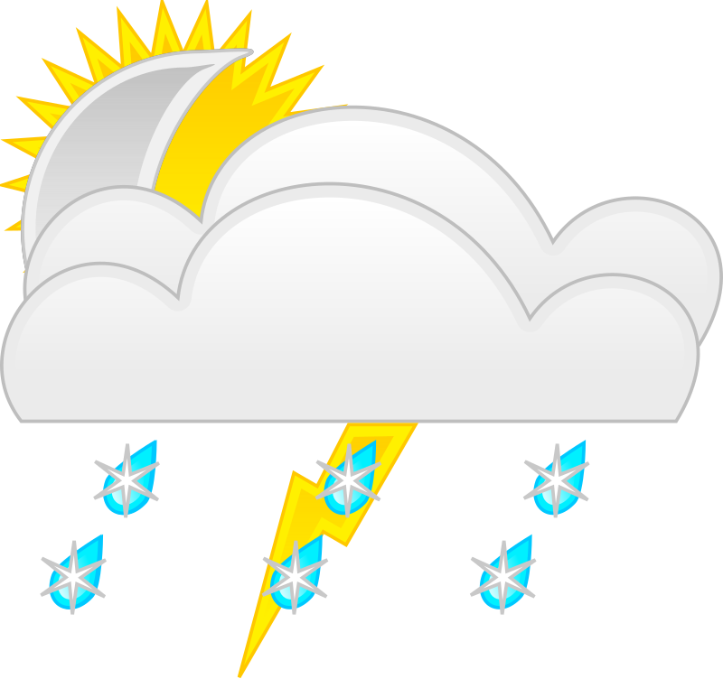 Sunny clipart love. Weather symbols template medium