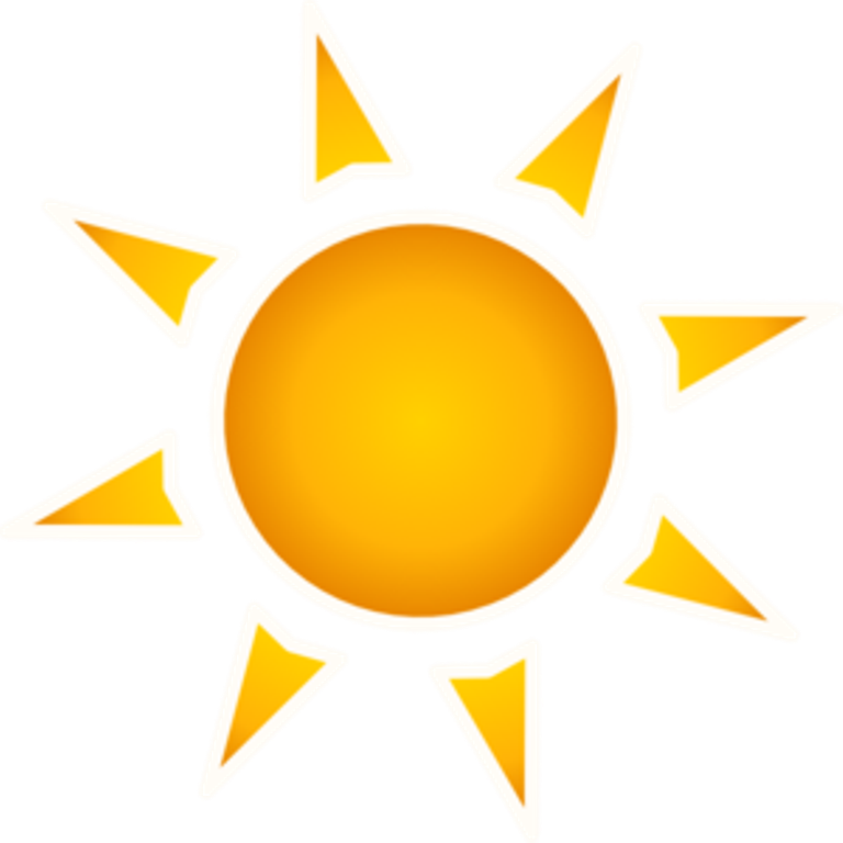 collection of high. Sunny clipart moderate climate