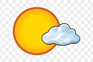 Portal . Sunny clipart mostly sunny