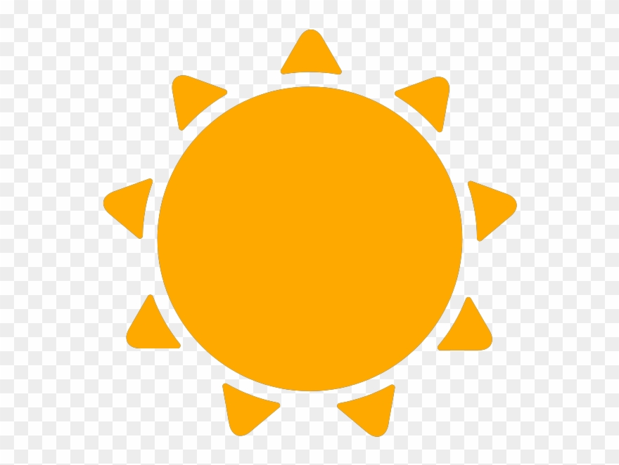 Weather icons icon png. Sunny clipart simple