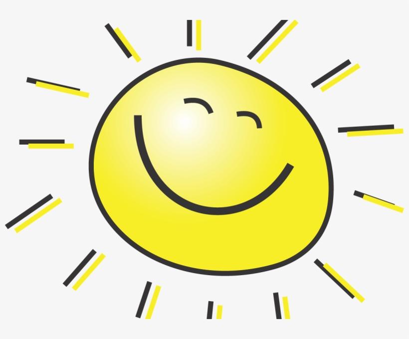Happy smiling clip art. Sunny clipart sun smile