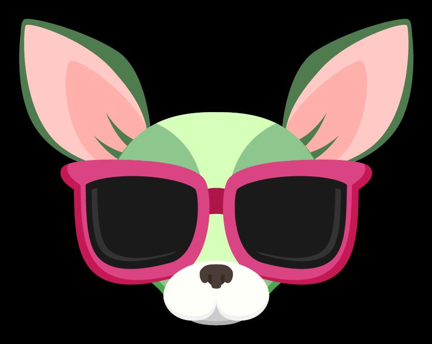 Green saint patrick s. Sunny clipart sunglasses spy