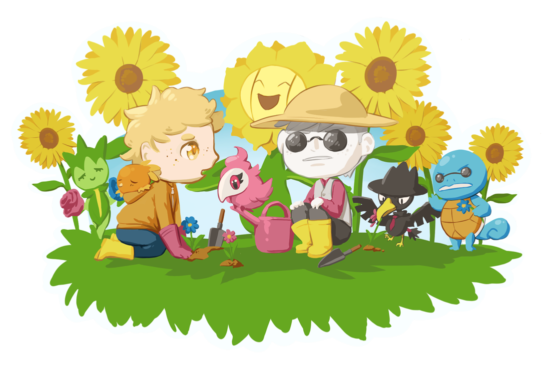 Sunny clipart sunny garden. Pts day by milay