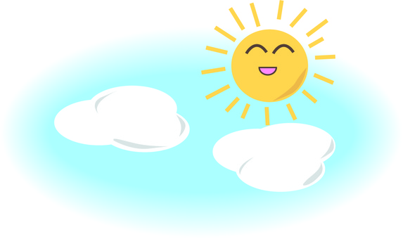 Sunny clipart sunny sky. Free cliparts weather illustac
