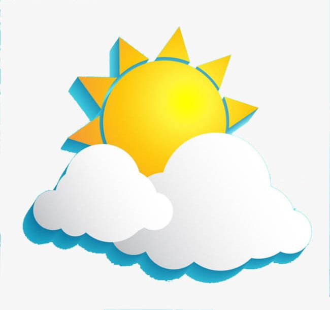 Sunny clipart sunny weather. Png clouds sun sunlight