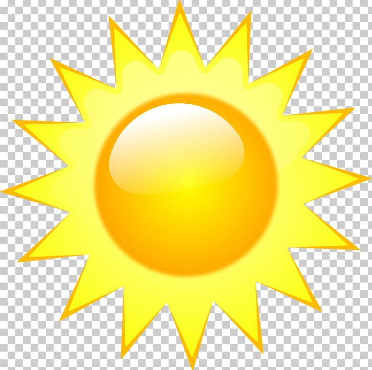 Sunny clipart symbol. Weather forecasting png circle