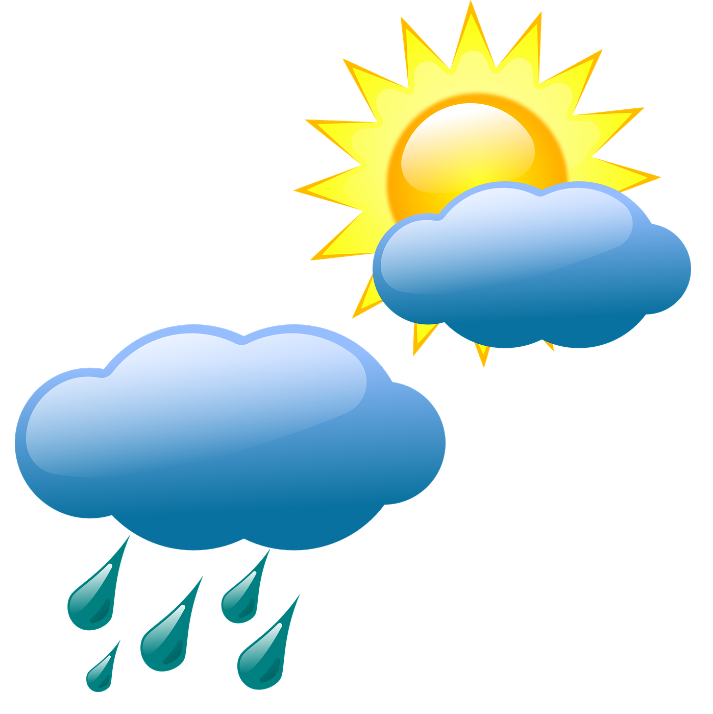 Forecasting symbol clip art. Sunny clipart weather nice