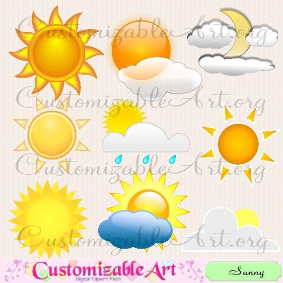 Digital sun decorative sky. Sunny clipart weather nice