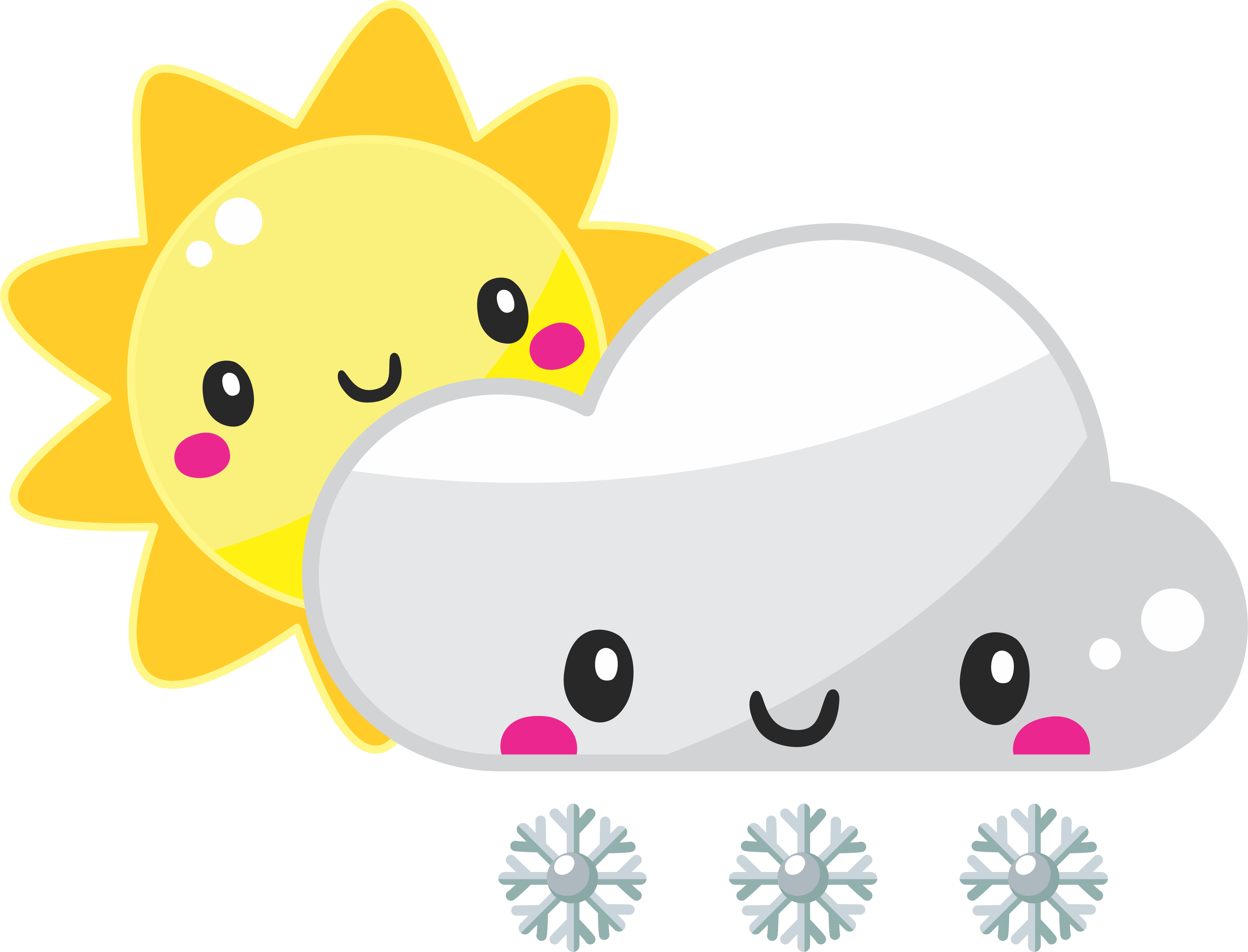 Ready to ship icons. Sunny clipart weather philippine
