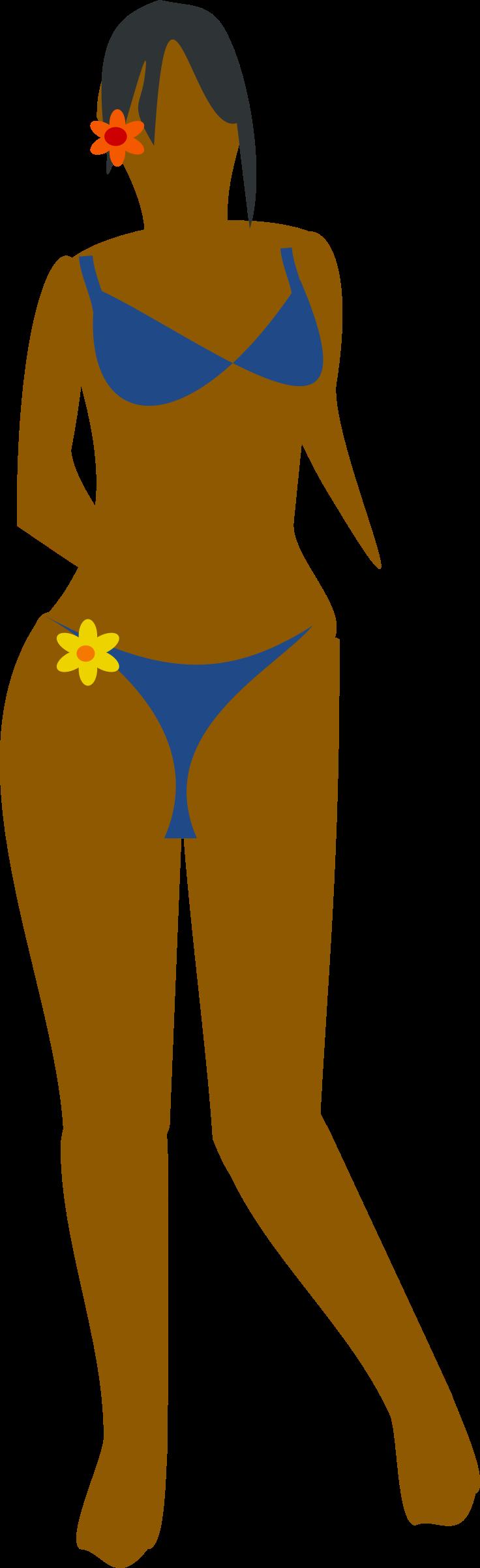 . Sunny clipart woman