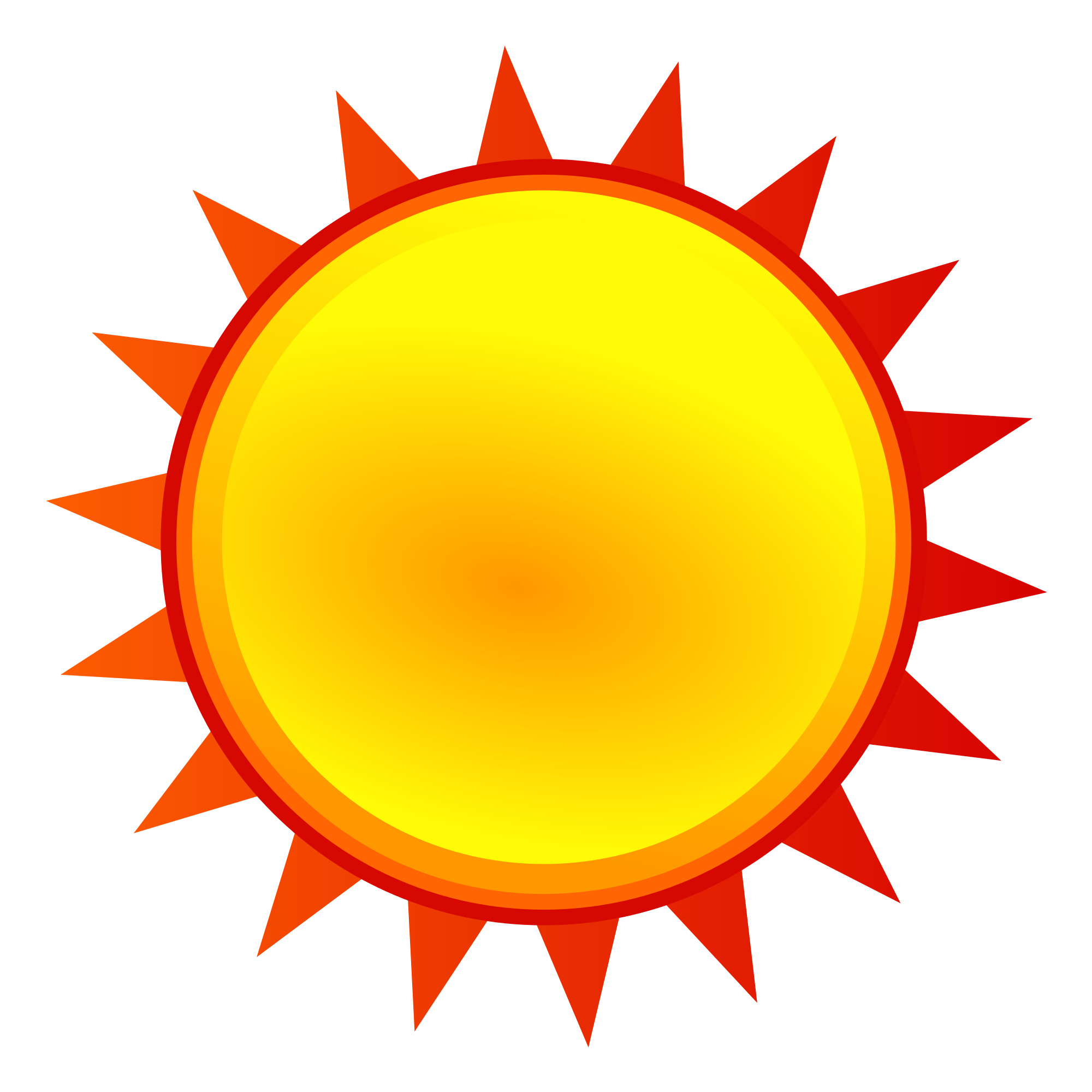 sunny clipart yellow #144777830