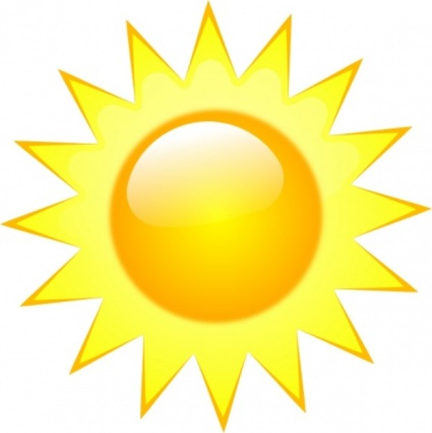 Weather panda free images. Sunny clipart