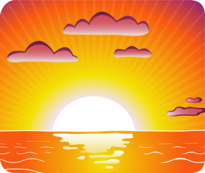 Sunset clipart. Free sunsets cliparts download