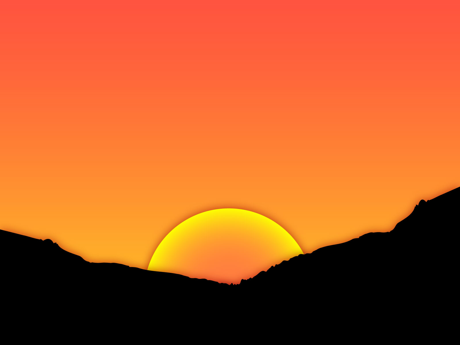 Free sunsets cliparts download. Sunset clipart