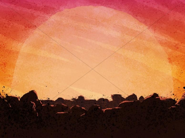 Sunset clipart easter sunrise. Cross worship background backgrounds