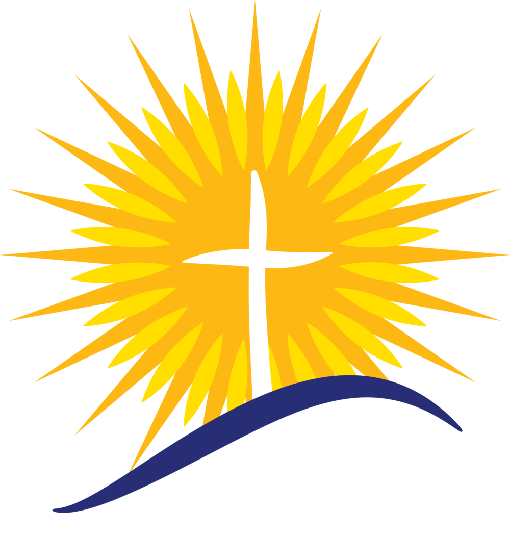 Light of christ church. Sunset clipart easter sunrise