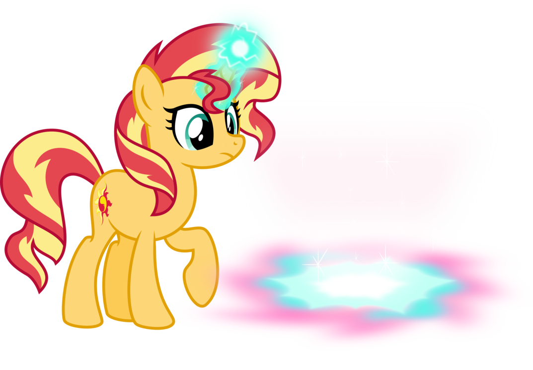 Sunset clipart pink sunset. Opened the magical portal