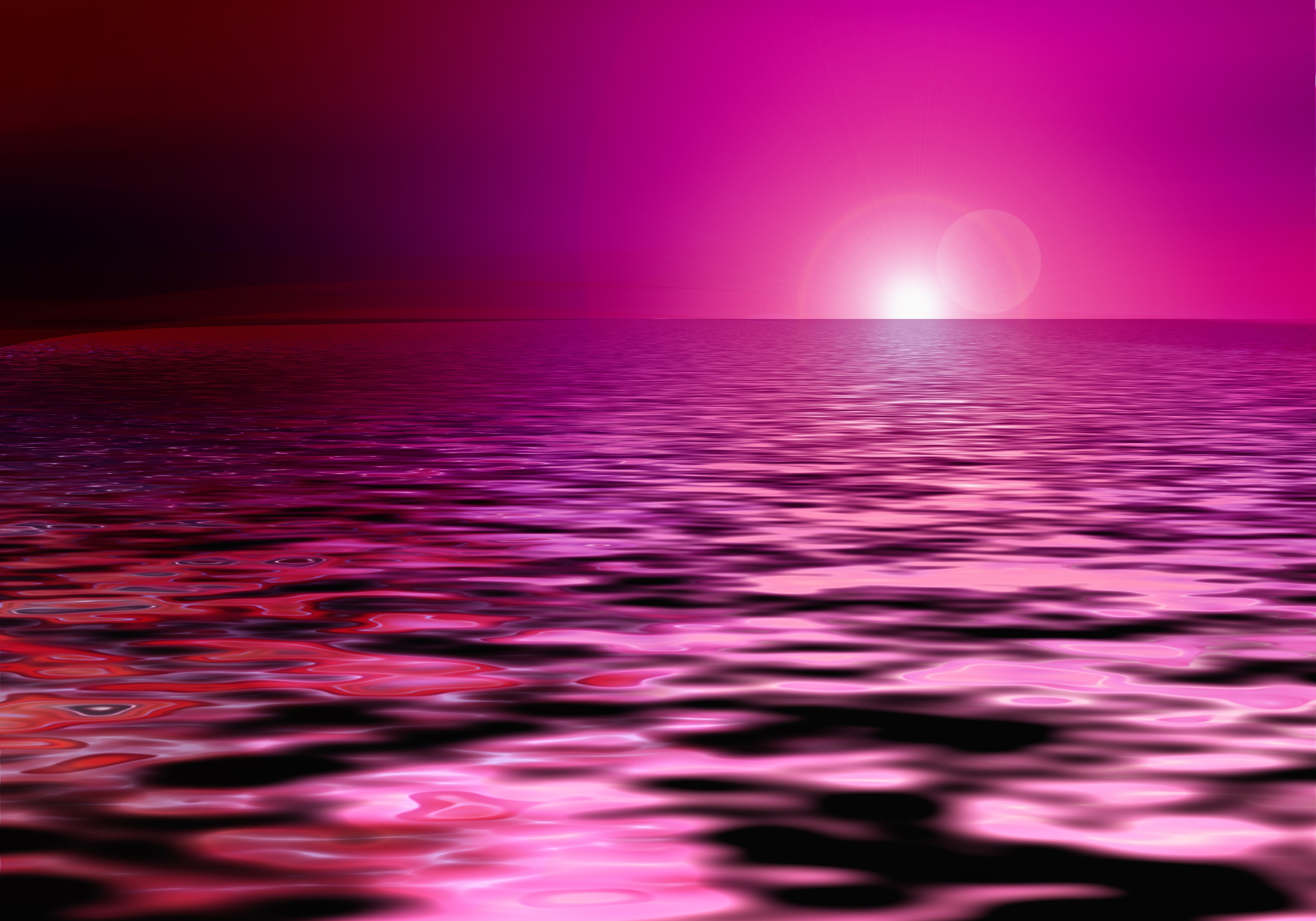 Cliparts zone . Sunset clipart pink sunset
