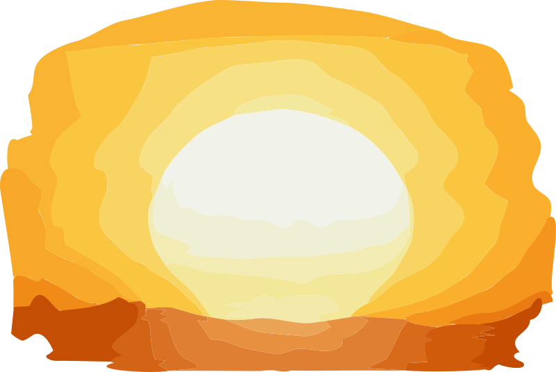 Sunset clipart powerpoint.  collection of transparent