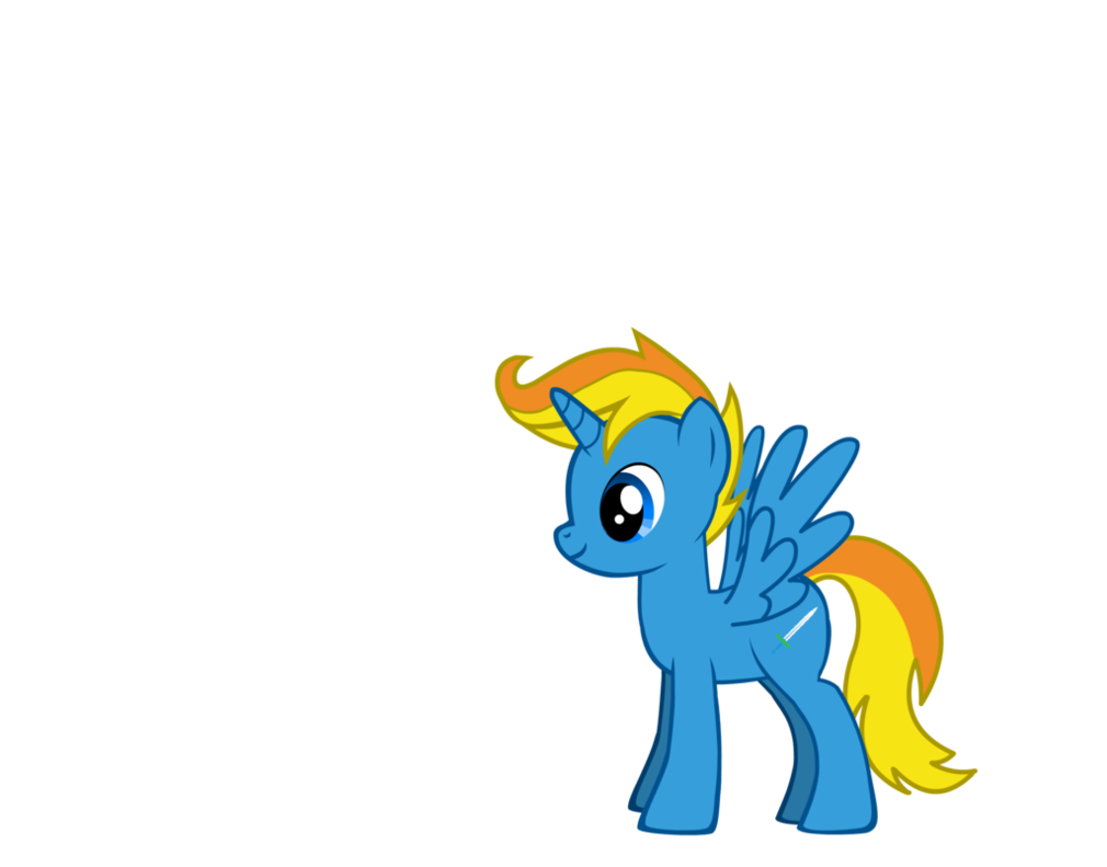 My little pony oc. Sunset clipart radiant