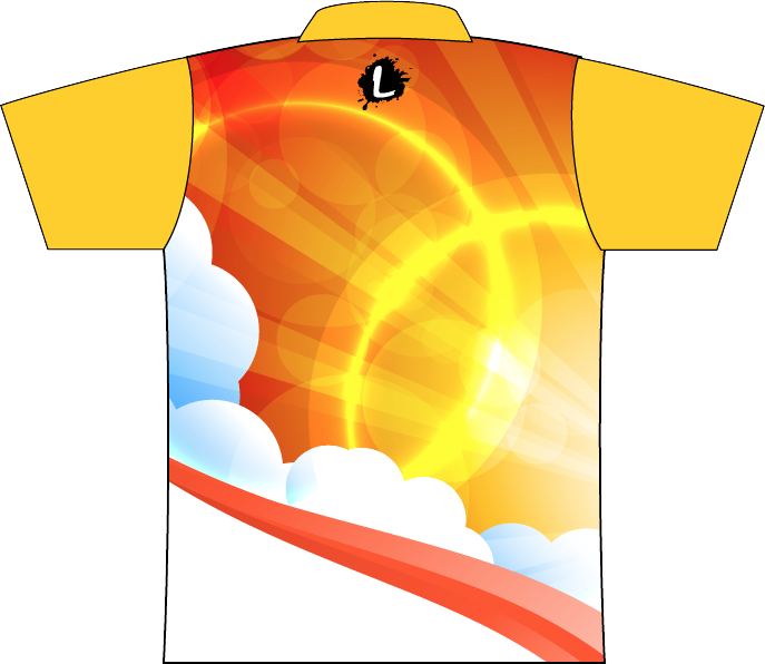 Sunset clipart sun rice. Jet bowling sunrise dye