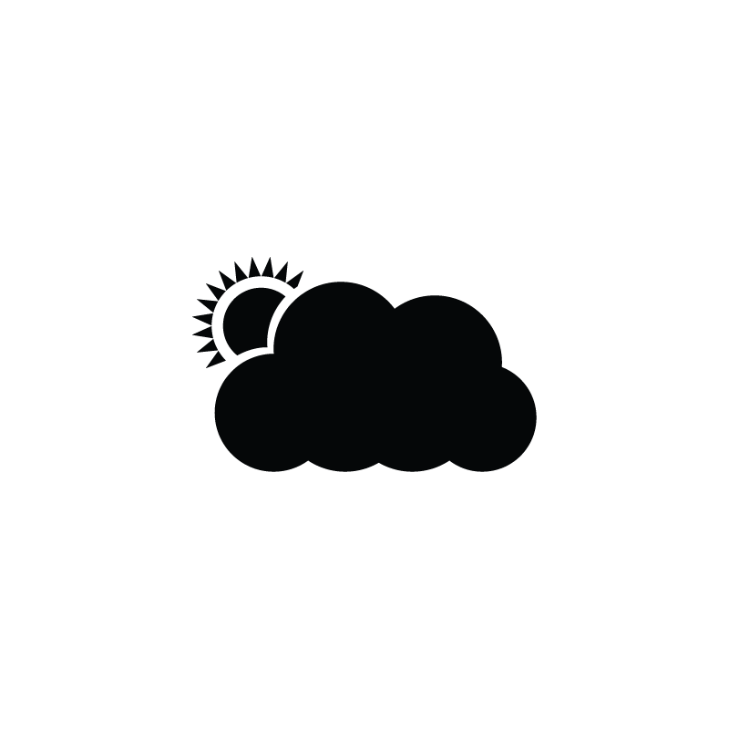 Cloud icloud services icon. Sunset clipart sunrise service