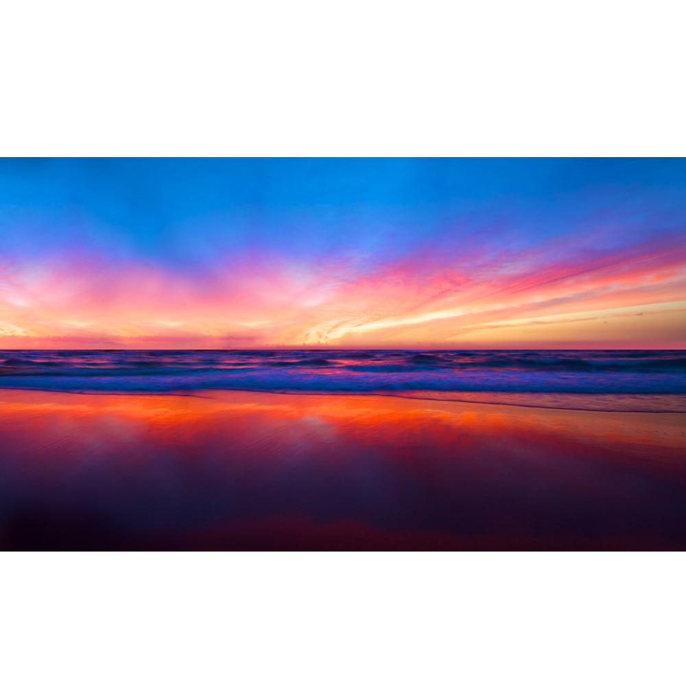 Gradient beach k www. Sunset clipart sunset wallpaper