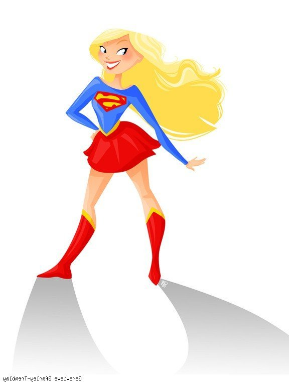 Supergirl clipart. At getdrawings com free