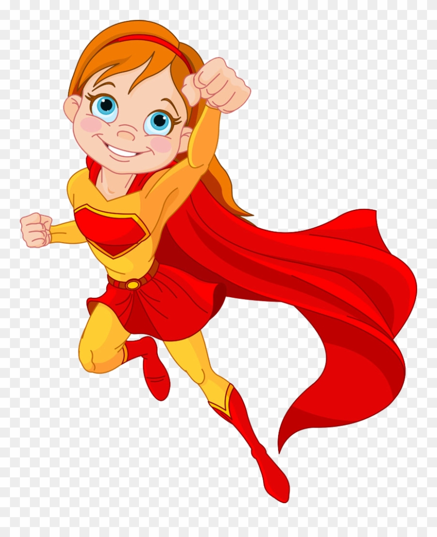 Supergirl clipart comic girl. Clip superwoman cartoon super