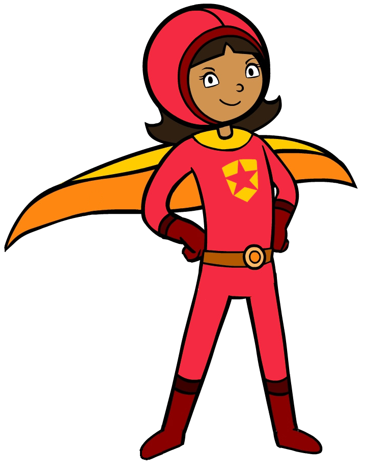 Wordgirl superhero wiki fandom. Supergirl clipart comic girl