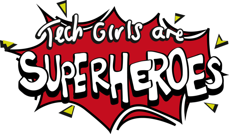 Tech girls are superheroes. Technology clipart future technology