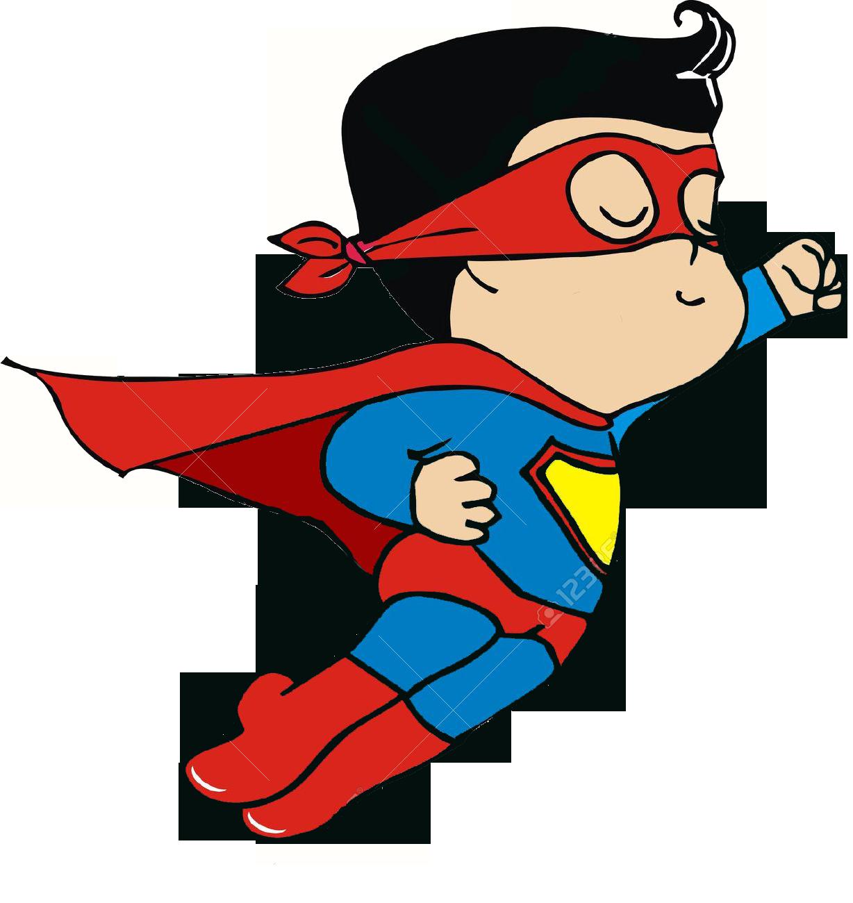 superheroes clipart brave person