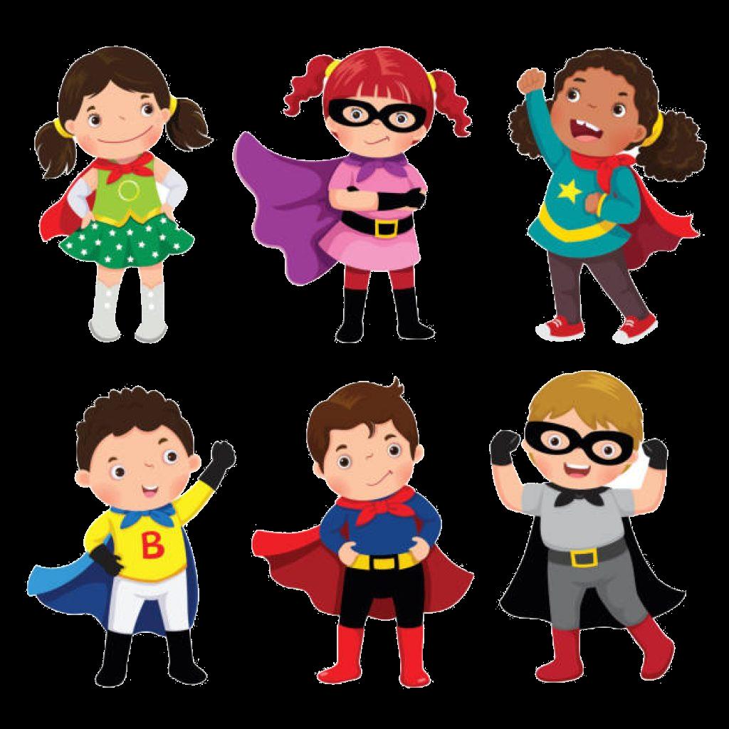 Superhero free girl at. Superheroes clipart fight