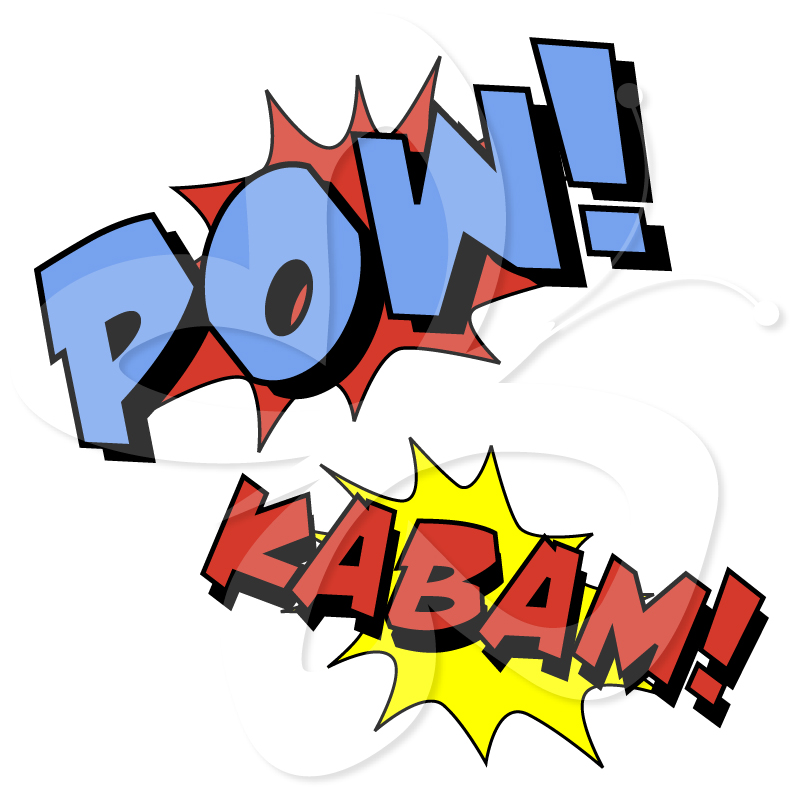 Superheroes clipart fight. Free superhero for teachers