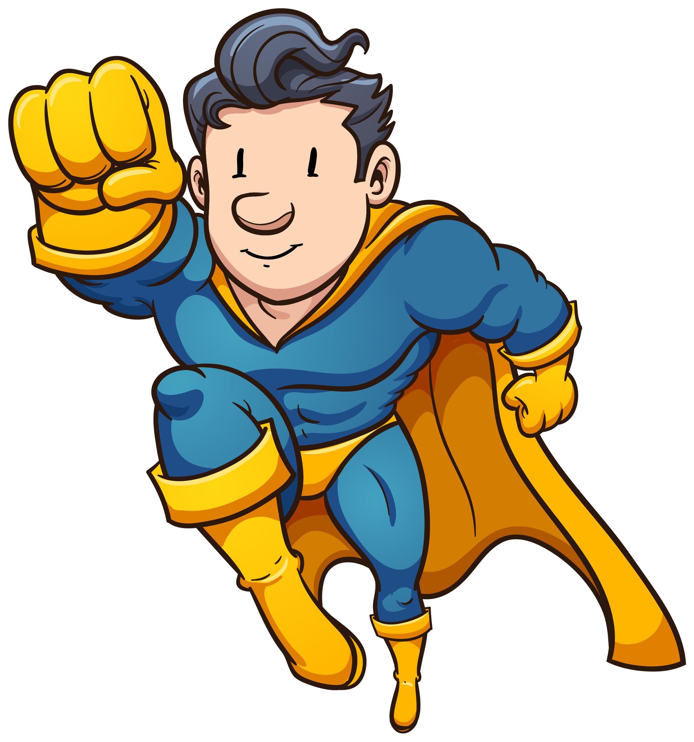 Superheroes clipart generic. Superhero clip art library