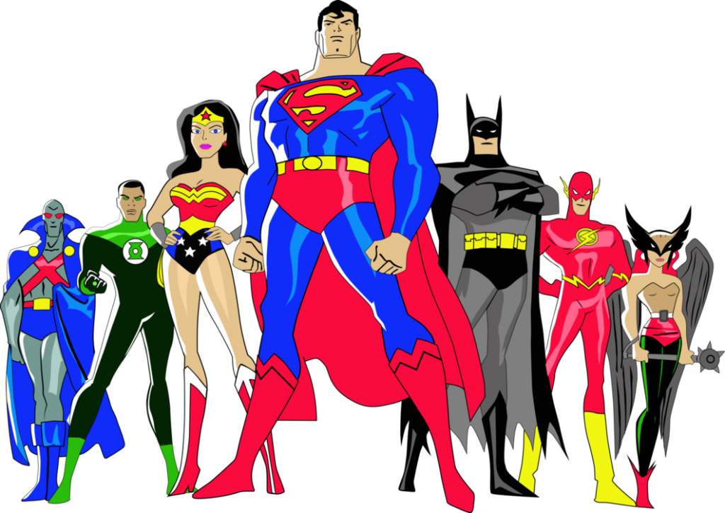 Keepers kolor skirmish of. Superheroes clipart justice league