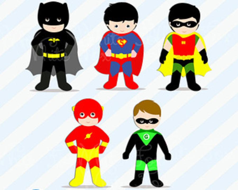 Superheroes clipart printable. Free superhero clipartxtras ideias