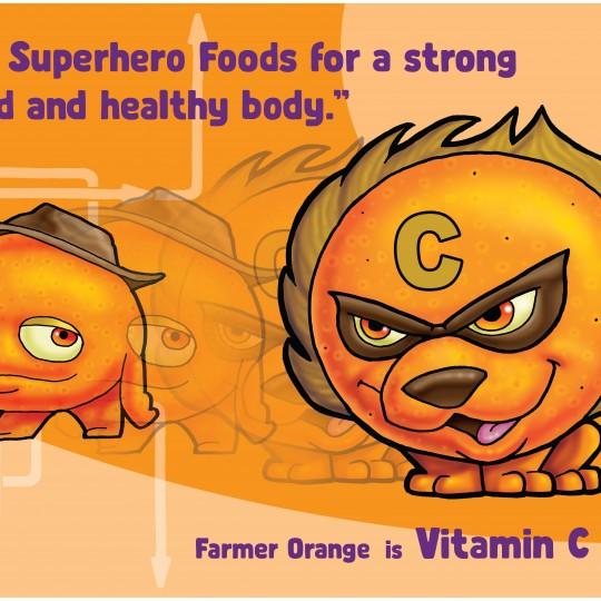 Poster lion download superhero. Superheroes clipart vitamin c