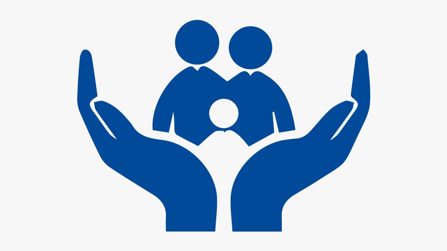 Support life insurance free. Hands clipart family